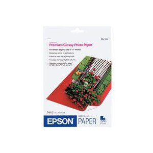 Epson 5 x 7 inch PREMIUM GLOSSY PHOTO PAPER 20 PACK [S041464]