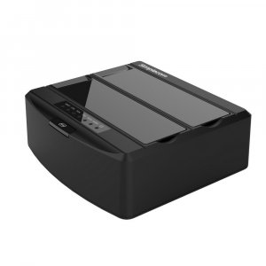 "Simplecom SD312 Dual Bay USB 3.0 Docking Station for 2.5"" 3.5"" SATA Drive Black"