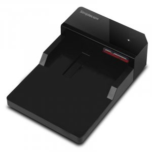 "Simplecom SD323-BK USB 3.0 Horizontal SATA Hard Drive Docking Station for 3.5"" and 2.5"" HDD"