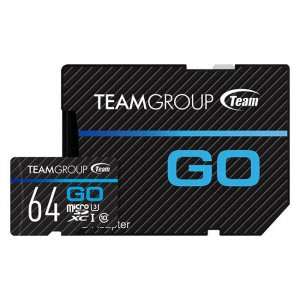 Team GO SDXC Card 64GB Micro SD Card - TGUSDX64GU303