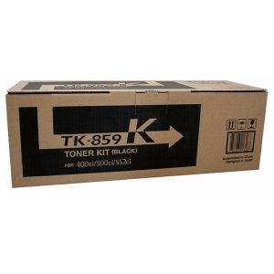 Kyocera TK859 Black Toner 25,000 pages Black