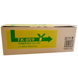 Kyocera TK859 Yellow Toner 18,000 pages Yellow