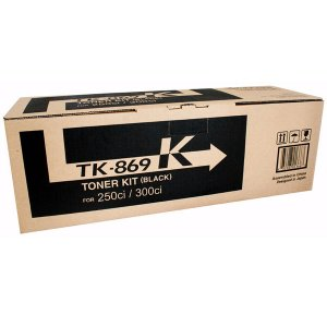 Kyocera TK869K Black Toner 20,000 pages Black