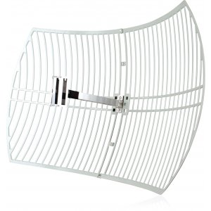 Tp-link Tl-ant2424b 2.4ghz 24dbi Directional Grid Parabolic Antenna, N Female Connector, Weather Resistant High Gain Long Coverage Up To 56km