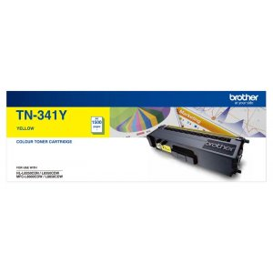 Brother TN-341Y Yellow Toner