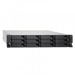 QNAP TS-1232XU-4G 12 Bay Diskless Rackmount NAS Cortex-A57 Quad Core 1.7GHz 4GB