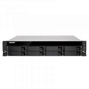 QNAP TS-873U-16G 8 Bay Rackmount Diskless NAS - AMD Quad-core CPU 16GB RAM