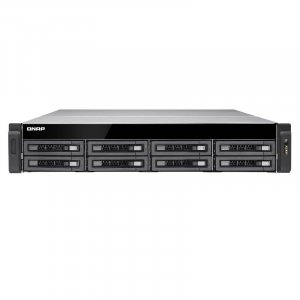 QNAP TS-EC880U-E3-4GE-R2 8 Bay Enterprise NAS Quad-core Xeon 4GB RAM
