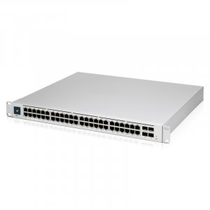 Ubiquiti UniFi Managed 48 Port Gigabit Switch with 802.3at PoE+ and 802.3bt PoE USW-Pro-48-POE-AU