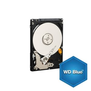 "WD WD7500BPVX 750GB Blue 2.5"" 5400RPM 9.5mm SATA3 Hard Drive"