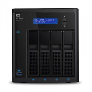 WD My Cloud PR4100 Pro Series 16TB 4-Bay NAS (WDBNFA0160KBK)