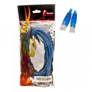 WW 5m Blue CAT5E UTP RJ45 To RJ45 Network Cable