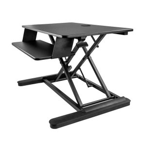 "Startech Sit-Stand Desk Converter - Large 35"" Work Surface BLACK"