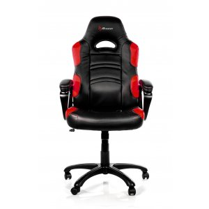 Arozzi Aro-enzo-rd Black & Red Enzo Adjustable Ergonomic Motorsports Inspired Desk Chair