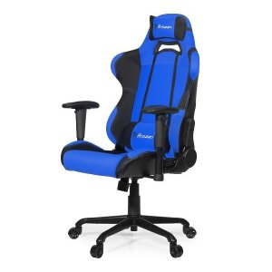 Arozzi Aro-tor-bl Black & Blue Torretta Adjustable Ergonomic Motorsports Inspired Desk Chair