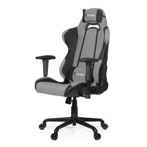 Arozzi Aro-tor-gy Black & Grey Torretta Adjustable Ergonomic Motorsports Inspired Desk Chair