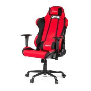 Arozzi Aro-torxl-rd Black & Red Torretta Xl Adjustable Ergonomic Motorsports Inspired Desk Chair