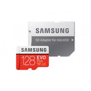 Samsung EVO Plus 128GB Micro SDXC Memory Card MB-MC128GA/APC