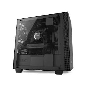 NZXT Matte Black H400 Mini Tower Computer PC Case