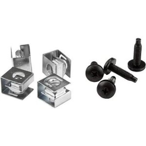 Startech Clpscrw1032 10-32 Server Rack Screws And Clip Nuts