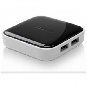 Belkin F4u020au 4 Port Usb 2.0 Hub-powered