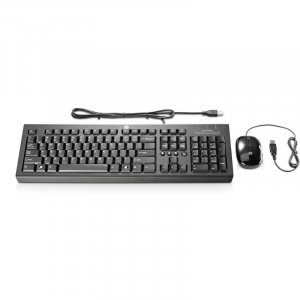 Hp H6l29aa Usb Essential Keyboard & Mouse (h6l29aa)