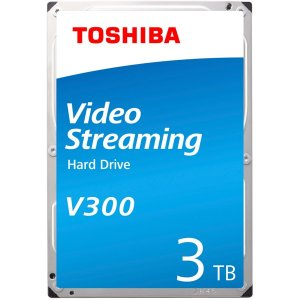 "Toshiba HDWU130UZSVA 3TB V300 Video Stream 3.5"" 5700RPM HDD"