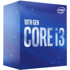 Intel Core i3-10100 3.6 GHz Quad-Core Processor LGA1200 10th Gen 4-cores CPU
