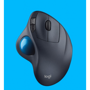 Logitech Wireless Mouse: M570 Wireless Trackball - Black