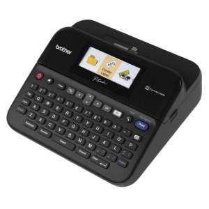 Brother PTD600 PC Connectible Label Maker with Color Display Printer
