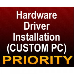 Hardware, Software, Driver Assembled Installation - PRIORITY