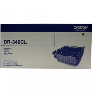 BROTHER DR340CL COLOUR LASER DRUM UNIT - 25000 PAGES