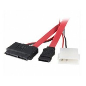 "Skymaster S504 Micro Sata To Molex Power And Sata Data Cable For 1.8"" Hdd, 40cm"
