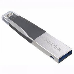 Sandisk Ixpand Imini Flash Drive Sdix40n 256gb Grey Ios Usb 3.0  Sdix40n-256g