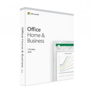 Microsoft Office 2019 Home and Business - Medialess Retail