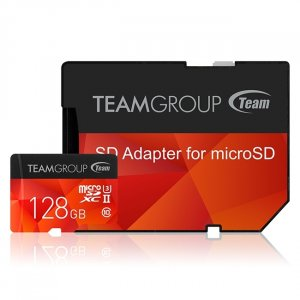 Team Group Xtreem 128gb Micro Sdxc Uhs-ii U3, Read Up To 250mb/s Write Up To 100mb/s