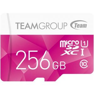 Team Group Colour Micro Sdxc 256gb Uhs-1 Sd Card