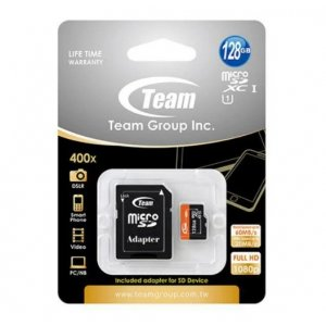 Team 128gb Microsdxc Card