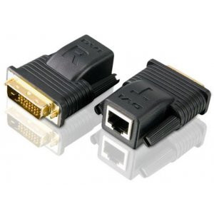 Aten VE066-AT Vancryst Mini Dvi Over Cat5 Video Extender - 1920x1200 Or 20m Max