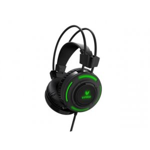 Rapoo Vh200 Illuminated Rgb Glow Gaming Headsets Black