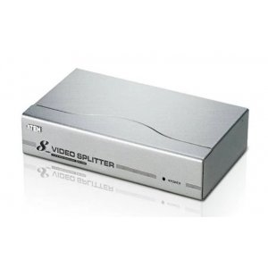Aten VS98A-AT-U 8 Port Video Splitter 300mhz 1600x1200@60hz Up To 30m