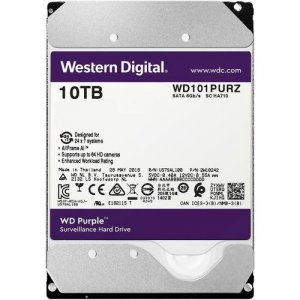 "WD Purple WD101PURZ 10TB 7200 RPM 256MB 3.5"" Drive HDD"
