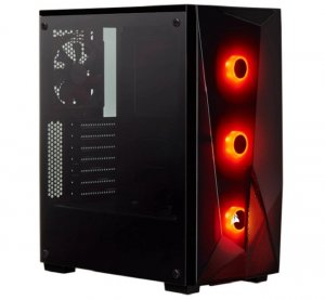 Corsair Carbide Series Spec-delta Rgb Tempered Glass Mid-tower Atx Gaming Case, Black