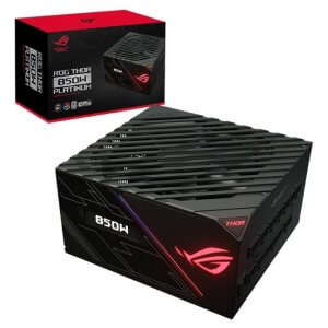 ASUS ROG THOR RGB 850W 80 PLUS Platinum ATX Power Supply