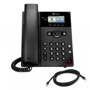 Polycom 2200-48812-025 Obi Edition Vvx 150 2-line Desktop Business Ip Phone With Dual 10/100 Ethernet Por