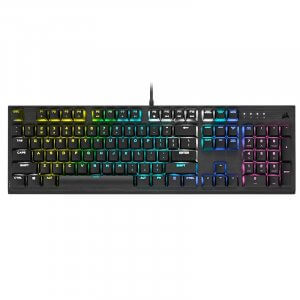 Corsair K60 RGB PRO Low Profile Mechanical Gaming Keyboard - Cherry MX Speed CH-910D018-NA