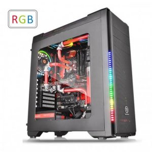 Thermaltake Versa C21 RGB ATX Mid-Tower Chassis Case