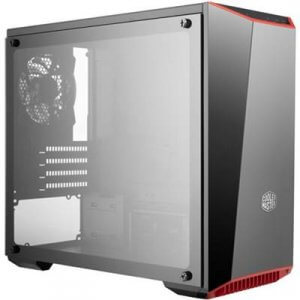 Cooler Master MasterBox Lite 3.1 Micro ATX Case - Black with Tempered Glass