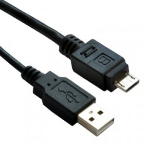 Astrotek Usb To Micro Usb Cable 2M - Type A Male To Micro Type B Male Black Colour Rohs