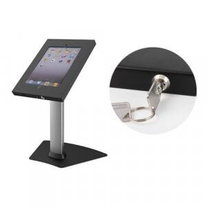 Brateck Anti-Theft Secure Enclosure Countertop Stand for iPad - PAD12-04AL
